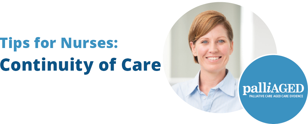 Tips for Nurses: Continuity of Care